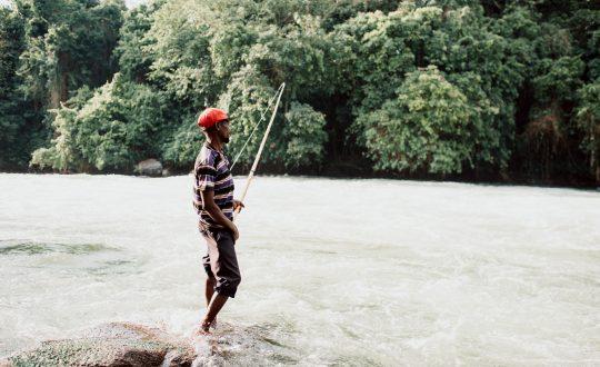nile river fishing