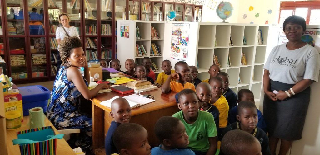 A Library for the Community of Bukeka, Uganda